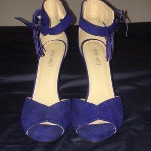 Nine West Suede heels 7